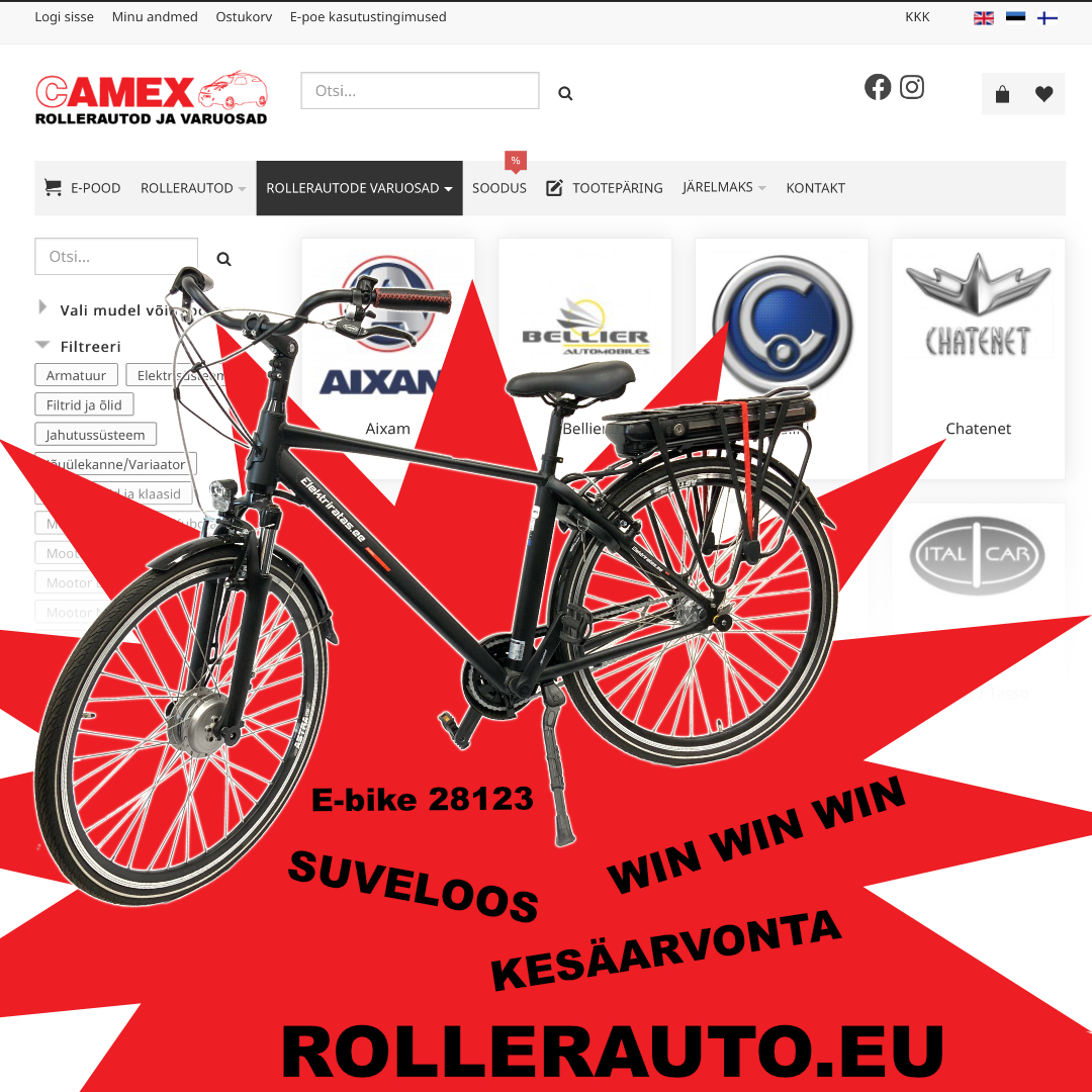 Win a bicycle